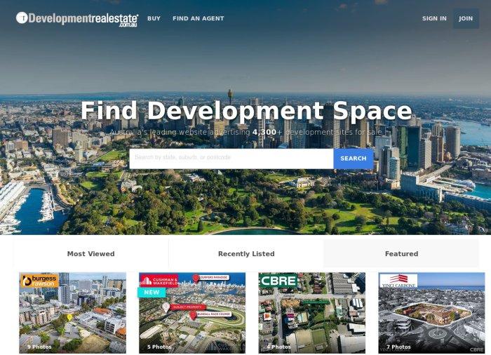 Developmentrealestate.com.au